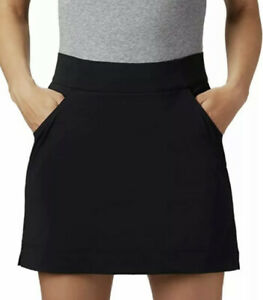COLUMBIA Omni-Shield Women's Black Skort Size: S Golf Tennis Skirt