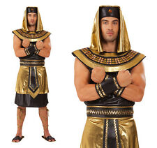 Mens King Tut Fancy Dress Costume Egyptian Pharaoh Egypt Outfit New