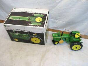 Ertl Precision Classics #3 John Deere 4020 Diesel Tractor Box Die Cast 1/16 5638