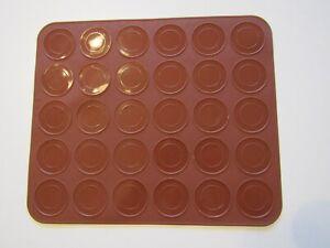 Macaron Matte Silikon Backmatte Backform Kekse Pralinen Macarons Ofen Backen