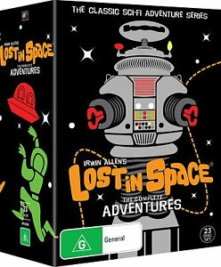 Lost In Space Complete Adventures 23 Disc  DVD New & Sealed