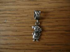 KAY JEWELERS CHARMED MEMORIES LITTLE GIRL DANGLE CHARM STERLING SILVER MA 925