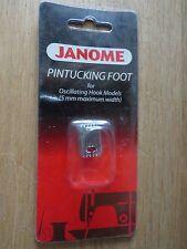 Janome pintucking Pied Pour Oscillant crochet modèles 5 mm Largeur maximale