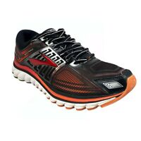 Brooks Glycerin G13 3D Print Fit Running Athletic Sneakers Sz 10 Mens Black Red