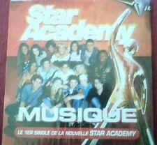 "NOLWENN LEROY - EMMA DAUMAS - CD SINGLE ""MUSIQUE"" (STAR ACADEMY)"