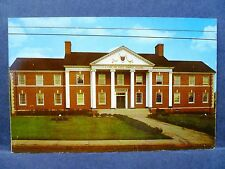 Postcard WV Buckhannon L.L. Loar & Family Memorial Building WV Wesleyan College