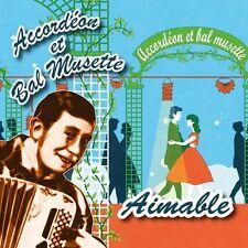 CD Accordéon et bal musette : Aimable