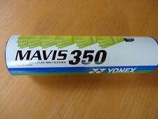6 New Yonex Nylon Badminton Shuttlecocks Mavis 350 yellow