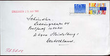Netherlands 1993 Cover To Germany #C14438