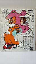 Vintage 80s Nosy Bears Puzzle by Playskool Lets Play Ball Made USA TCFC