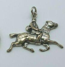 835 Silber Anhänger - Reiter
