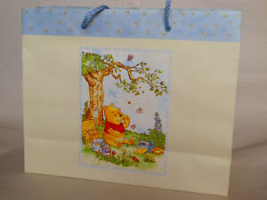 Winnie the Pooh Gift Bag - Large - Gift Presentation Wrapping