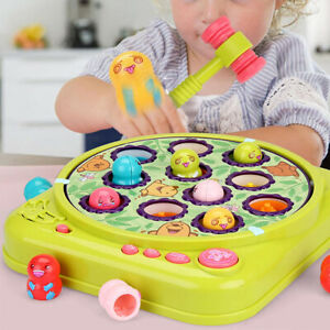 Whack A Mole Game Interactive Hammering & Pounding Toys for Early Developmental