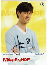 Jan Stapelfeldt - MARIENHOF- original signierte Autogrammkarte - hand signed