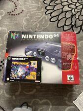 N64 - Nintendo 64 Konsole mit Original Controller in OVP Tetris Ovp
