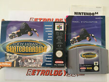 Tony Hawk's Skateboarding > Nintendo 64 (N64) > Complet > PAL FR