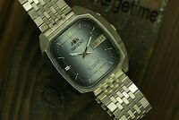 Vintage Automatic Japan Watch ORIENT Crystal Day/Date Nice Dial Steel watch