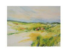 E. Hofmann Idyllisches Dorf I Poster Kunstdruck Bild 40x50cm