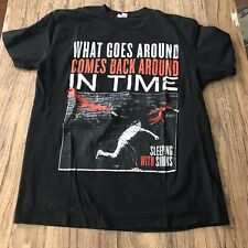 Sleeping With Sirens Band Tee Shirt Size L #12460