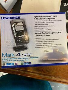 Lowrance Mark-4HDI Fishfinder + Chartplotter