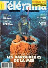 telerama n°2118 tarzan archeologie sous marine sacha guitry 1990