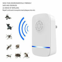 Electronic Mosquito Killer Repeller Reject Rat Ultrasonic Insect Plug For Home