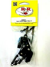 R&R Outrigger / Downrigger Clips R2 - Boat Fishing Rigger Clips - 2 in Pack New