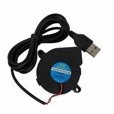 5V USB 50x15 5015 Radial Fan