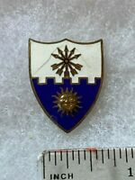 Authentic US Army 22nd Infantry Regiment Unit DUI DI Crest Insignia GEMSCO