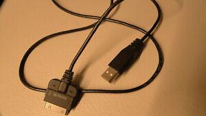 OEM SanDisk USB Cable Sandisk 30-pin Fits Sansa MP3 Players