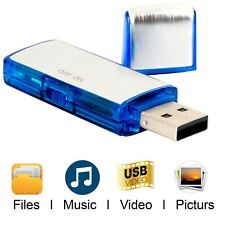 More details for 8gb digital voice recorder dictaphone usb mini flash drive recording device uk