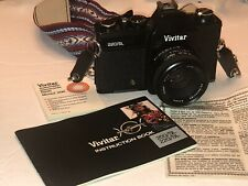 Vivitar 220/Sl ~ 35mm Film Camera & Lens Strap Manual Accessories Excellent Cond