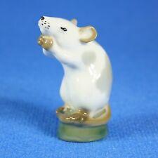 Mouse figurine Lomonosov  Porcelain Russia USSR LFZ
