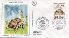 FRANCE FDC - 2722 1 TORTUE TERRESTRE - 14 Septembre 1991 - LUXE sur soie