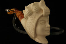 CLEOPATRA Meerschaum Smoking Pipe with CASE 2499 pipa