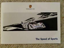2012 Porsche Martini Accessories Showroom Advertising Sales Folder/Brochure L@@K