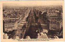 75 - cpa - PARIS - L'avenue des Champs Elysées