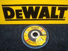 DEWALT DT3255 115MM INOX ANGLE GRINDER SANDING FLAP DISC 36GRIT