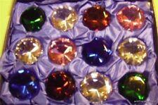 WHOLESALE BOX LOT OF CRYSTAL DIAMOND GEMS ROCKS STONES imitation jewels red blue
