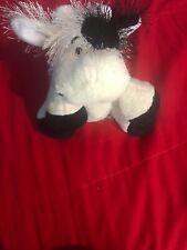 Ganz Webkinz COW Plush Fuzzy NO CODE gently Used