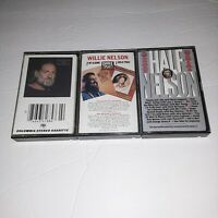 Lot Of 3 Willie Nelson Country Music Cassette Tapes