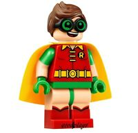 LEGO Super Heroes the Batman movie Robin MiniFigure New From Set 70905 minifig