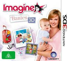Imagine Babies 3D (NEW+OZI) Nintendo 3DS 2DS XL console baby doll game for girls