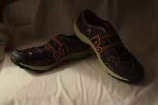 New Women's Size 8 Merrell Kamori Eden Lightweight Black Multi Print Shoes $80