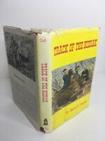 Track of the Kodiak by Marvin H. Clark Jr. 1984, Hardcover, DJ is worn & stained
