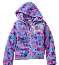 My Little PONY Jacket Girl's size 2T NeW Purple Soft Plush Zip-Up Hoodie NWT