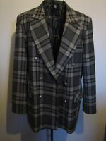 A LOVELY STYLISH WOMENS FIRST AVENUE COLLECTION GREY JACKET SIZE 16