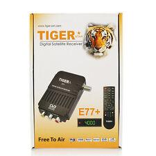 FTA Receiver  Tiger Star E77+ Digital Satellite Receiver Decoder