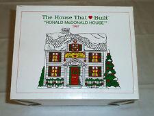 """Dept 56 Snow Village RONALD McDONALD'S """"The House That Love Built"""" - New"""