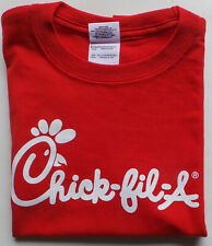 Chick-fil-a Logo Red T-shirt Youth Size X-Small